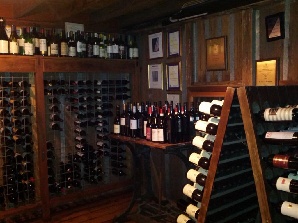 Roberts Restaurant - wine room