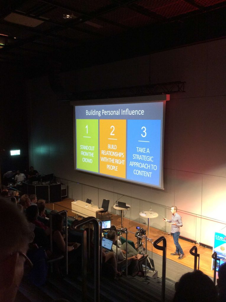 content tips from TBEX Stockholm 2016 - influence