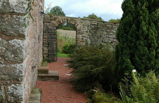 Blencowe Hall grounds