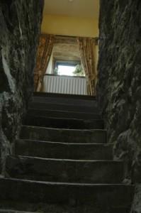 Inside historical Blencowe Hall, Penrith UK