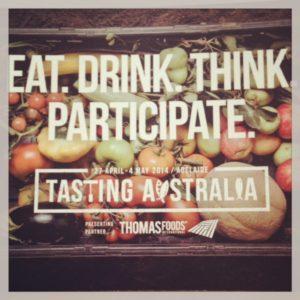 Tasting Australia Adelaide 2014 Sarah Blinco