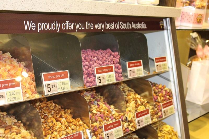 Adelaide Central Market nuts Sarah Blinco