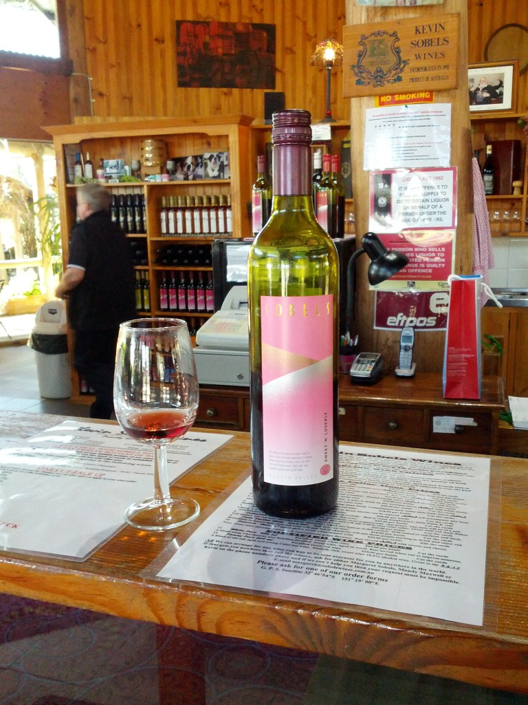 Hunter Valley romantic getaway - Kevin Sobels for wine tasting