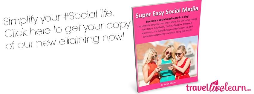 Super Easy Social Media by Sarah Blinco