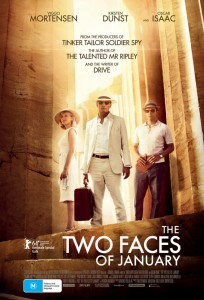 WIN tickets to see The Two Faces of January