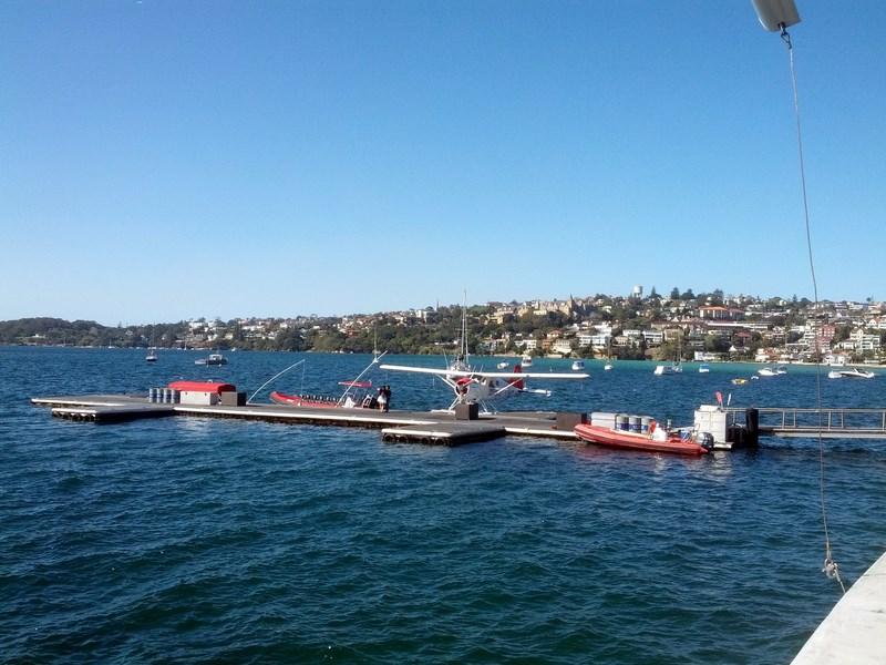 Seaplane docking at Catalina (Copy)