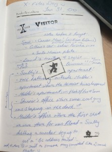 The X-Files travel blog diary extract travellivelearn.com