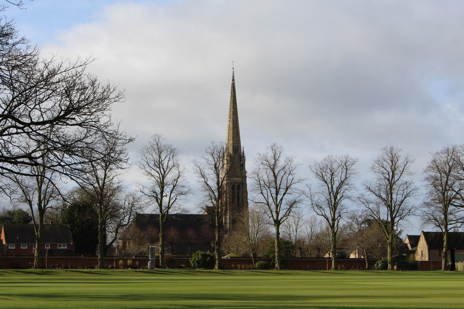 Days out in Warwickshire, Rugby, St Marie church