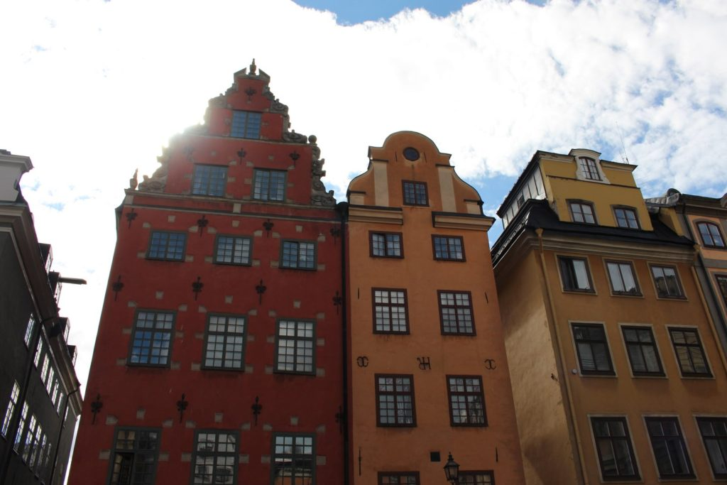 Stockholm old town square travellivelearn Sarah Blinco