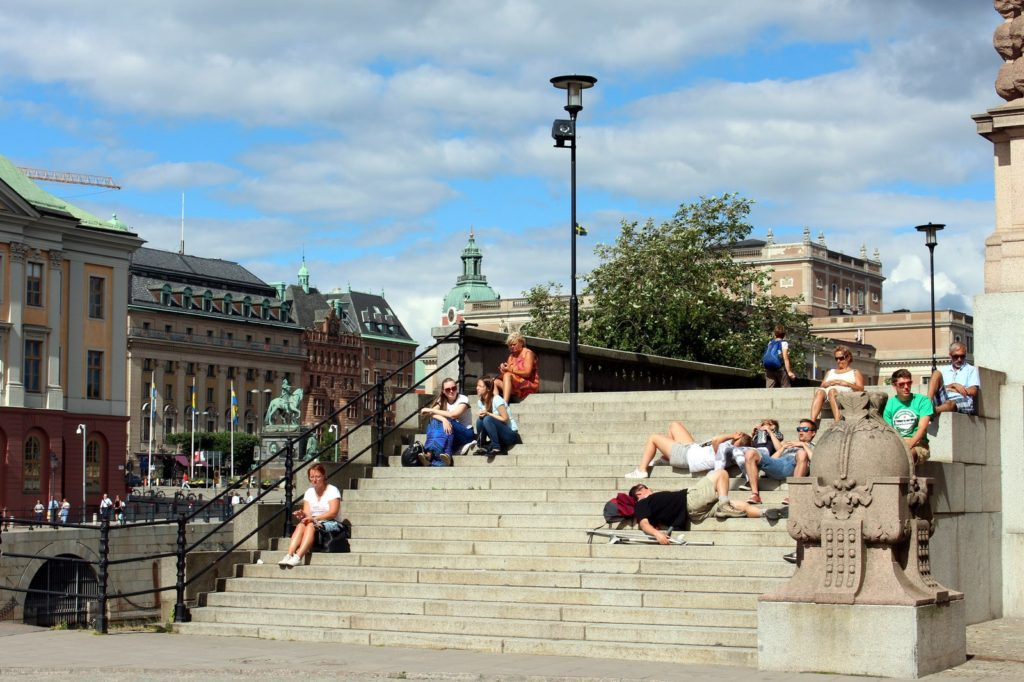 Stockholm stairs travellivelearn Sarah Blinco