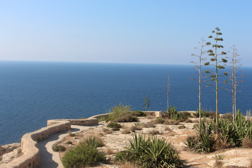 Beautiful views in Malta from the Blue Grotto