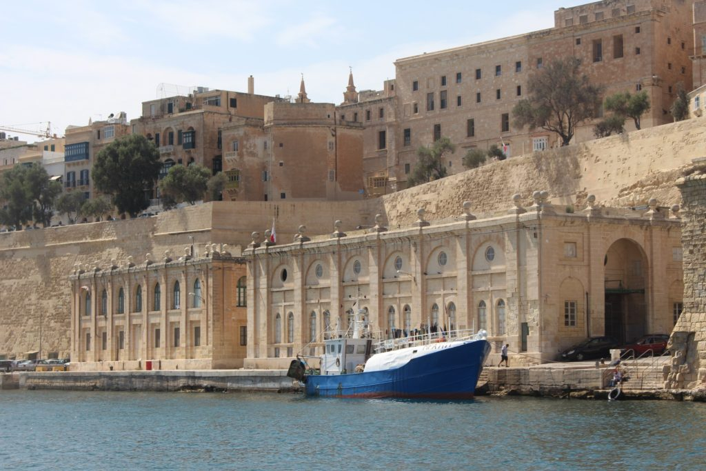 Malta harbour - Sarah Blinco travellivelearn.com