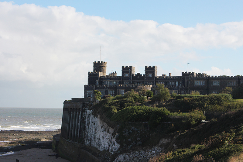 Days out in Kent: Kingsgate Castle on a hill