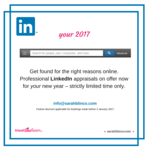 make your social media profile work Sarah Blinco LinkedIn updates