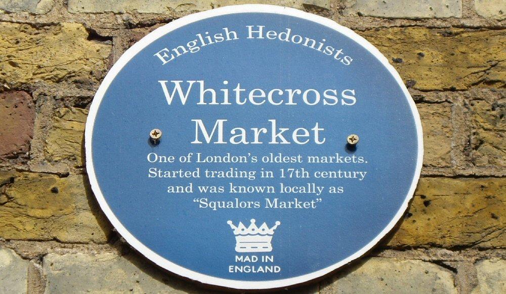 Whitecross Street food market London