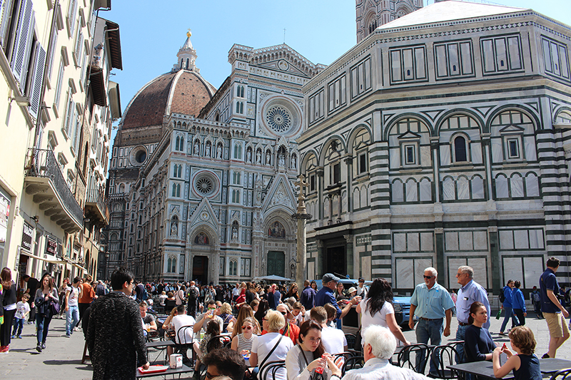 To Tuscany apartments - you can visit the area including Florence
