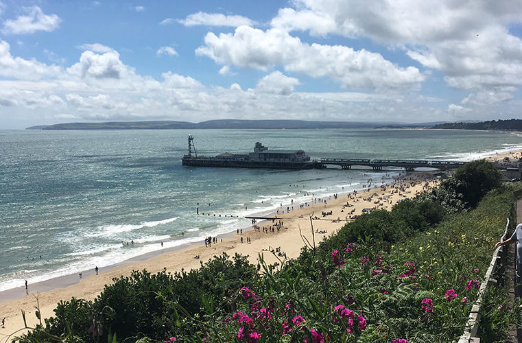 Bournemouth and the English seaside