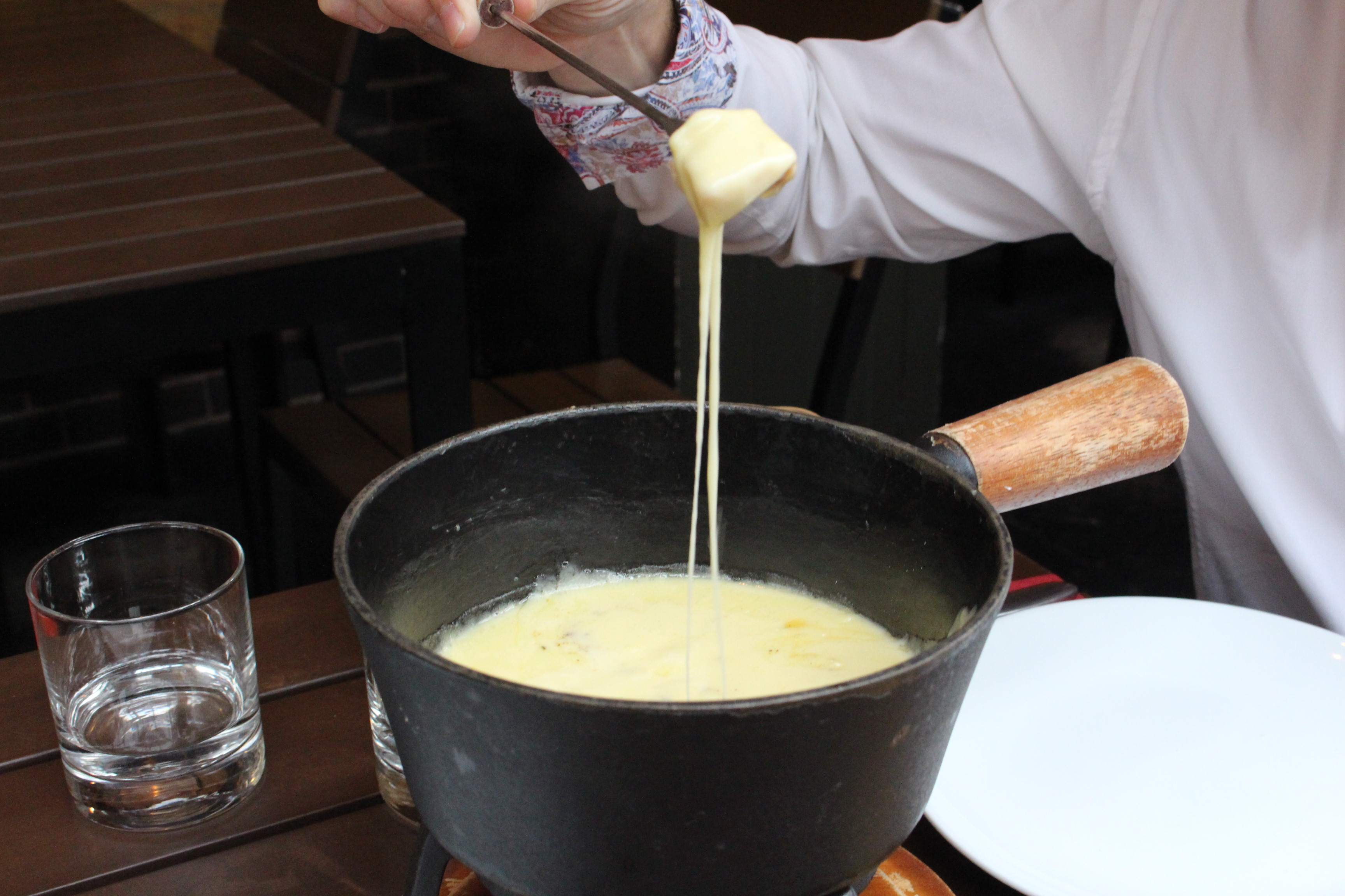 Fondue London - the best fondue at Abondance (formerly Androuet) - find out more