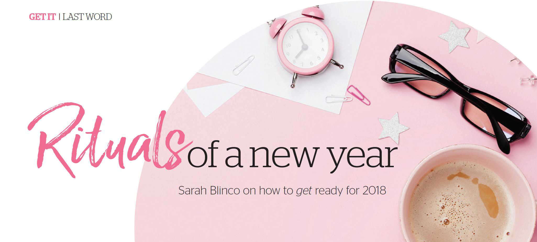 new year rituals – getting your year started the right way