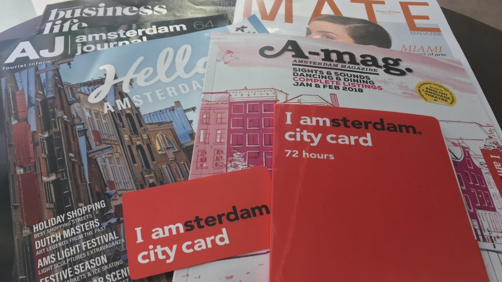 A weekend in Amsterdam - get around using the I Amsterdam city card