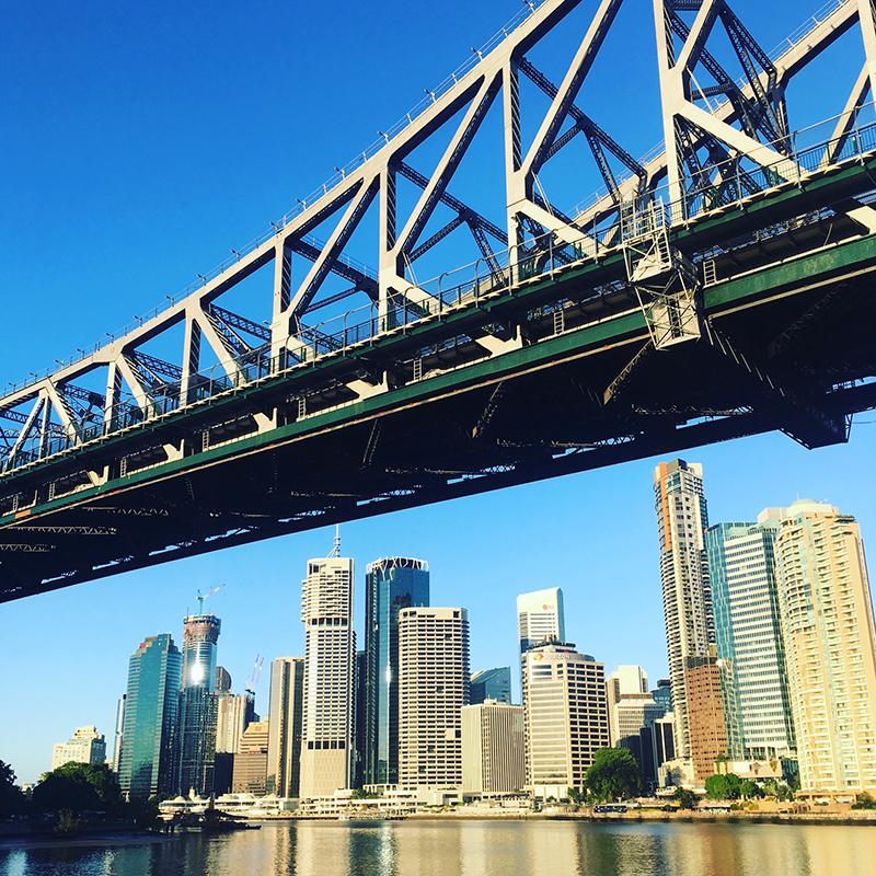 Brisbane to Gold Coast – Brisbane city