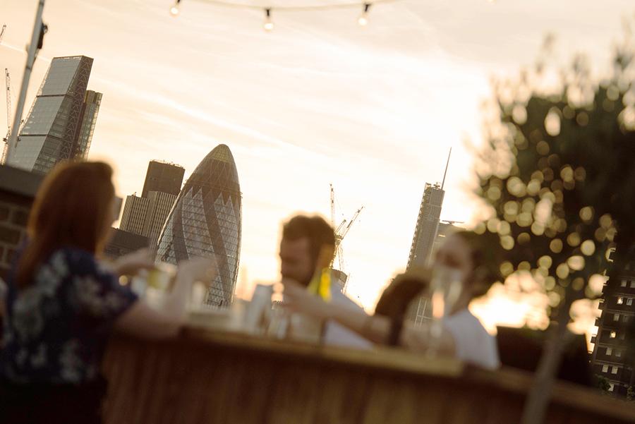Summer in London – Skylight rooftop bar