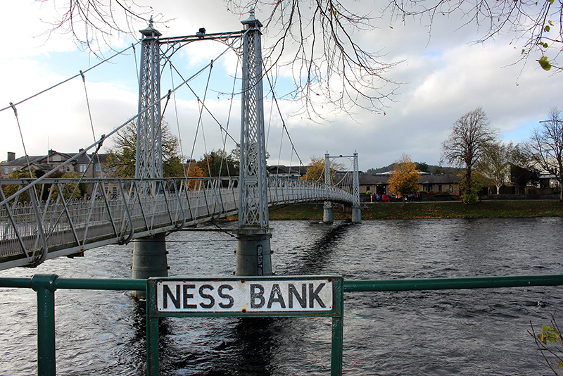 Things to do in Inverness - wander along Ness River