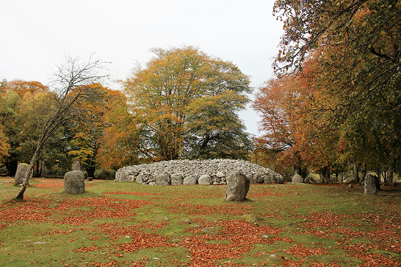 Filming locations for Outlander – Clava Cairns, Inverness