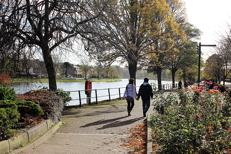 Things to do in Inverness - go exploring on foot either side of the River Ness