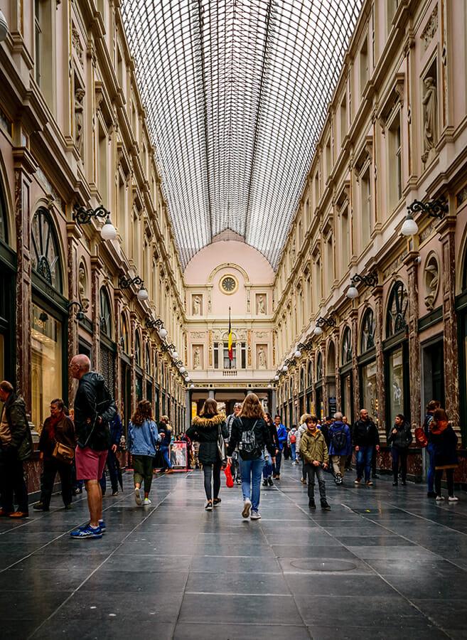 1 day in Brussels - Galeries St Hubert