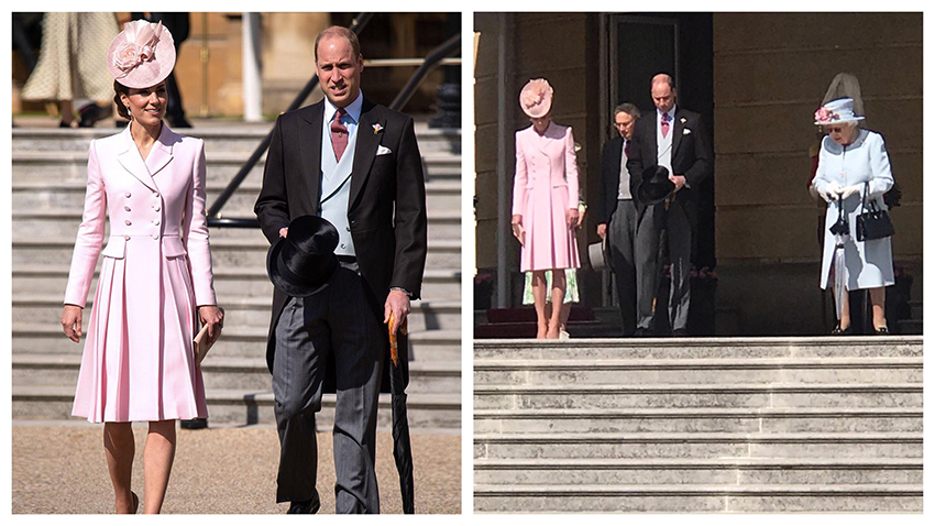 Queens Garden Party 2019 Kate and William