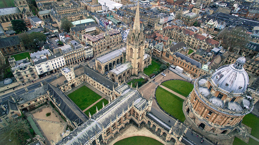 Days out in Oxfordshire England: Oxford