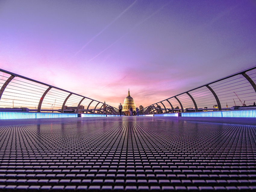 there's so much to do in London - it's a perfect break with plenty of romance